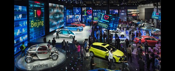 Hybrydy plug-in Toyoty na Salonie Samochodowym w Pekinie